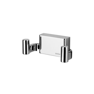 Geesa by Nameeks BloQ Double Coat / Towel Hook in Chrome