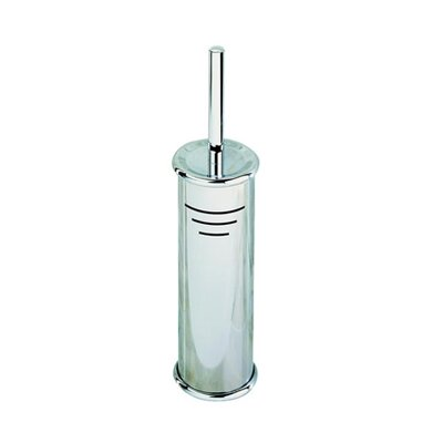 Geesa by Nameeks Standard Hotel Free Standing Toilet Brush Holder in Stainless Steel