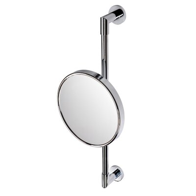 Geesa by Nameeks Wall Bar Shaving Mirror in Chrome