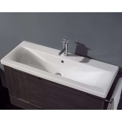 Spazio 40 Complete Bathroom Vanity Set With Single Sink Wayfair