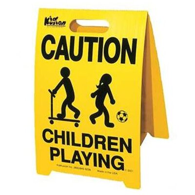 Kid Kusion Driveway Safety Sign