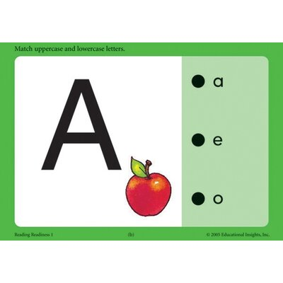 Educational Insights Set 1: Reading Readiness (Hot Dots Phonics Flash Cards)