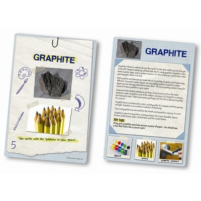 Educational Insights Everyday Uses Rock and Card Set