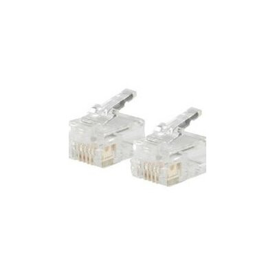 Cables to Go RJ12 Stranded Cable Modular Plug (Set of 25)