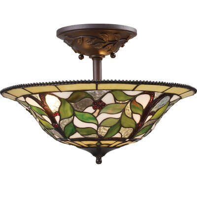 Landmark Lighting Latham Semi Flush Mount