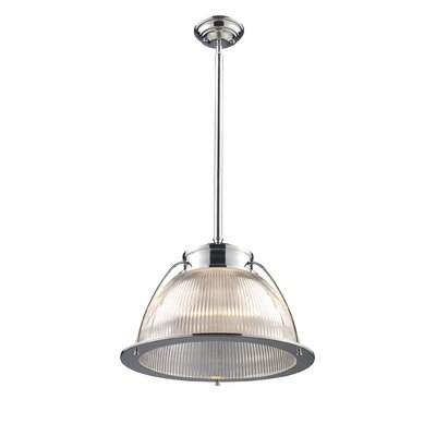 Landmark Lighting Halophane 1 Light Inverted Pendant