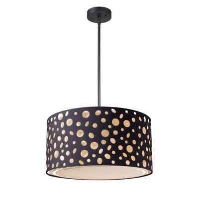 Landmark Lighting Enchantment 1 Light Drum Pendant