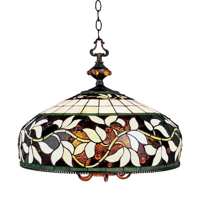 English Ivy 7 Light Chandelier