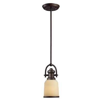 Brooksdale 1 Light Mini Pendant