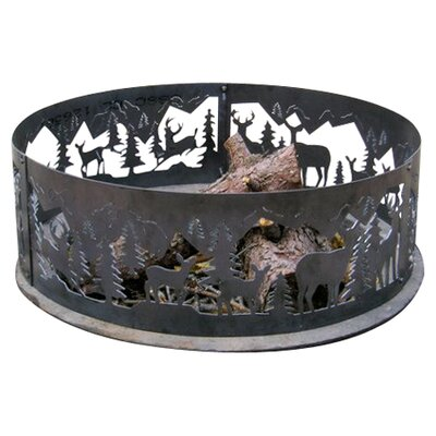 P & D Metal Works Whitetail Fire Ring