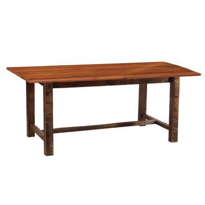 Fireside Lodge Reclaimed Barnwood Harvest Dining Table