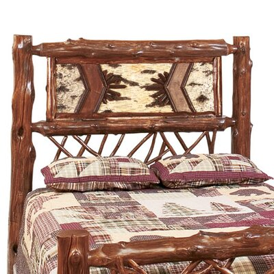 Fireside Lodge Adirondack Twig Headboard