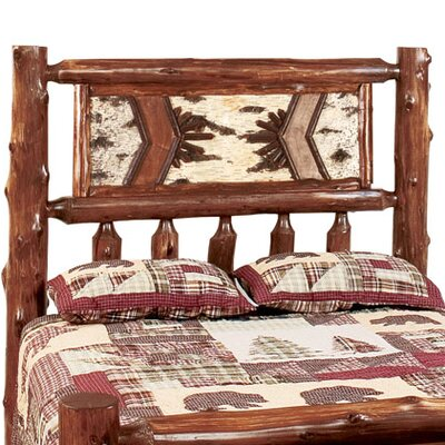 Fireside Lodge Adirondack Slat Headboard