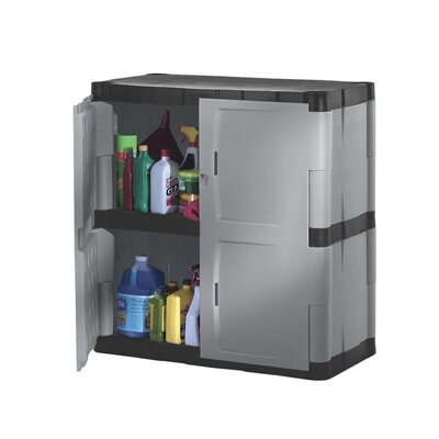 "Rubbermaid 36"" H x 36"" W x 18"" D Storage Cabinet"