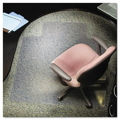Rubbermaid Es Robbins Lip Chair Mat, Multi-Task Series Anchorbar for Carpet Up To 3/8""