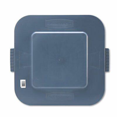 "Rubbermaid Commercial Square Brute Lid, 24"" Wide"
