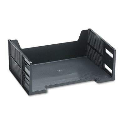 Rubbermaid Stackable High-Capacity Side Load Letter Tray