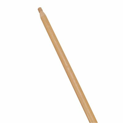 "Rubbermaid 60"" Threaded Wood/Lacquered Handle, Woodgrain"