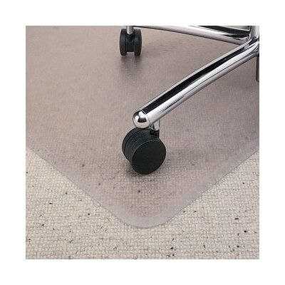 Rubbermaid BerberMat Low Pile Carpet Beveled Edge Chair Mat