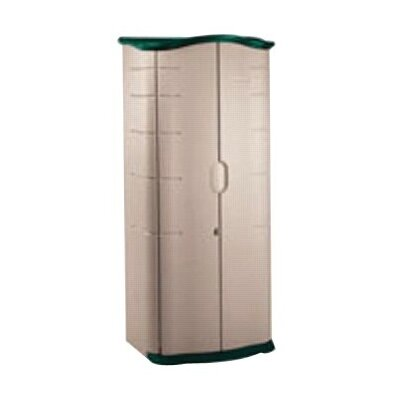 "Rubbermaid Vertical 2'8"" W x 1'10"" D Plastic Storage Shed"