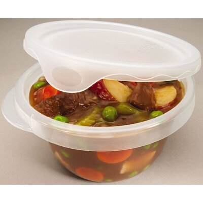 Rubbermaid 4 Piece 28 Oz Round Container Set
