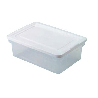 Rubbermaid Clever Store Snap-Lid Container in Clear