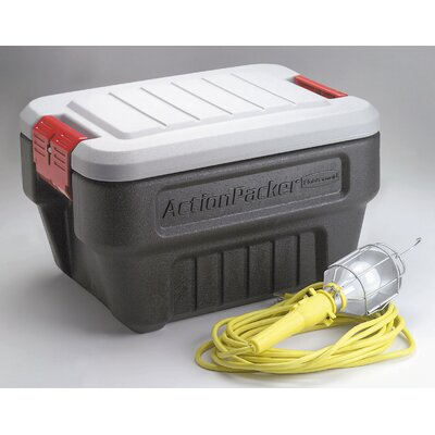 Rubbermaid 24 Gallon Action Packer Storage Container In