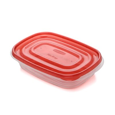 Rubbermaid 3 Piece Take Alongs Rectangular Container Set