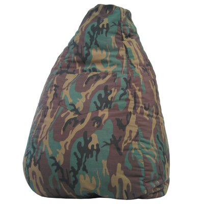 Hudson Medical Dorm Camo Bean Bag Chair