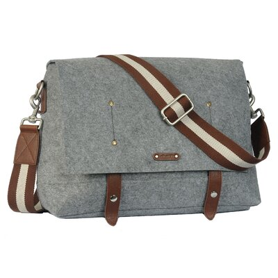 Ducti Hell Storm Messenger Bag in Grey