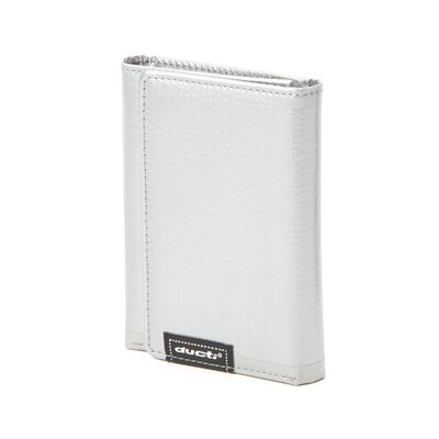 Ginormous Tri-Fold Wallet in Silver