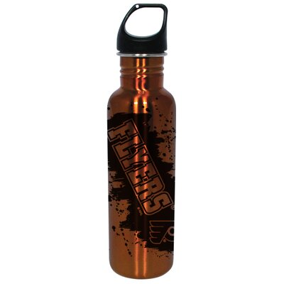 Hunter Licensed Sports NHL 26 Oz Stainless Steel Water Bottle