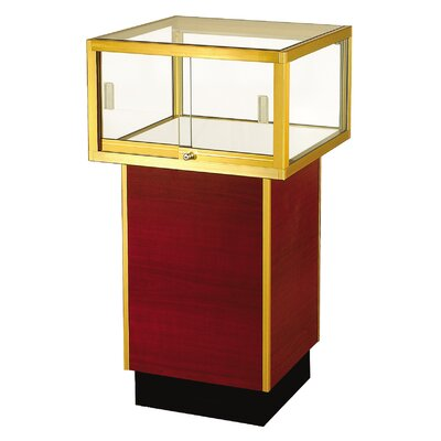 "Sturdy Store Displays Streamline 38"" x 30"" Square Pedestal Case"