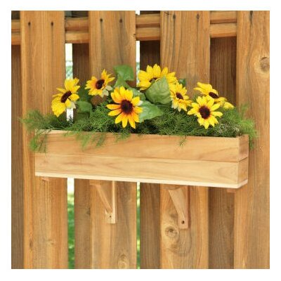 Diamond Teak Teak Rectangular Window Box Planter