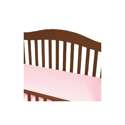 Baby Luxe by Priva Jersey Knit Cotton Crib Sheet with Safety Corners