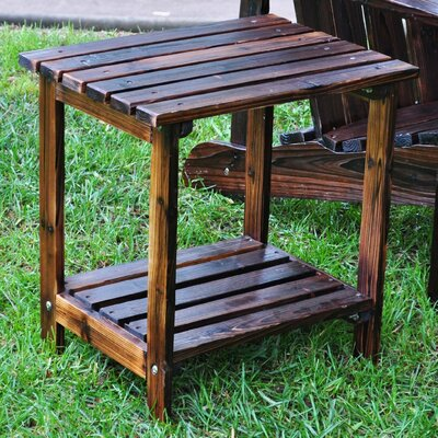 Shine Company Inc. Rectangular Cedar Side Table