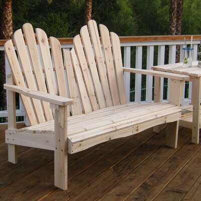 Shine Company Inc. Westport Wood Garden Bench