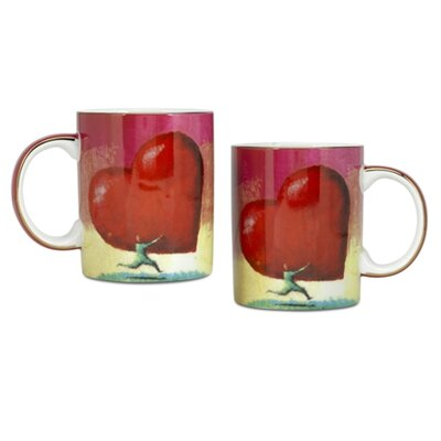 PS Collection All Heart 12 oz. Coffee Mug