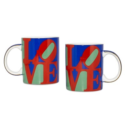 "PS Collection Robert Indiana ""Love"" Coffee 12 oz. Mug"