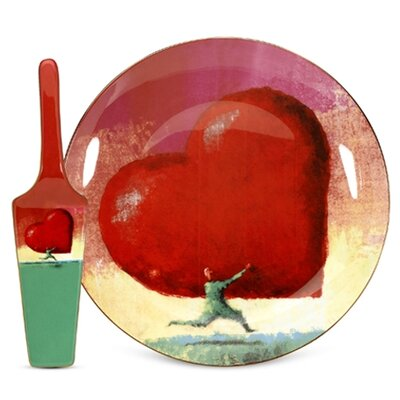 PS Collection All Heart Cake Plate and Server