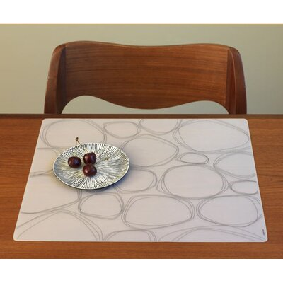 Modern-Twist Pebbles Placemat