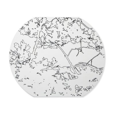 Modern-Twist Meadow Round Placemat