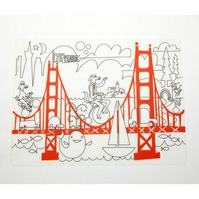 Modern-twist Fun on the Golden Gate Placemat