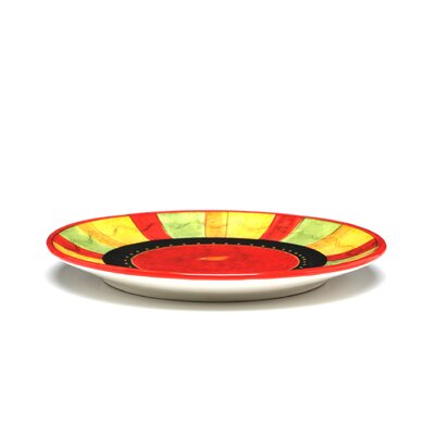 Certified International Caliente by Joy Hall Dinner Plate