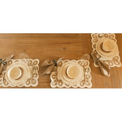Certified International Firenze Ivory Dessert Plate by Pamela Gladding (Set of 4)