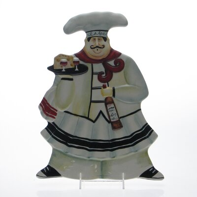 "Certified International Chef de Cuisine by Jennifer Garant 15"" 3D Platter (Set of 4)"