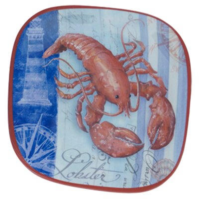 "Certified International Lobster by Geoff Allen 8.5"" Plate (Set of 6)"