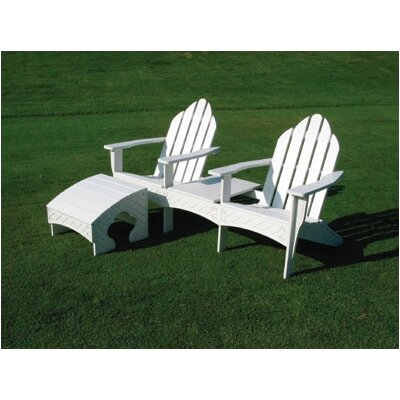Eagle One Adirondack Tete-a-Tete Seating Group