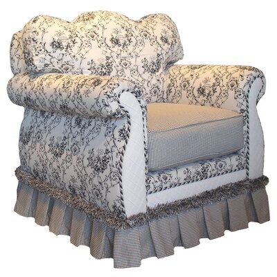 Toile Black Adult Empire Glider Rocker