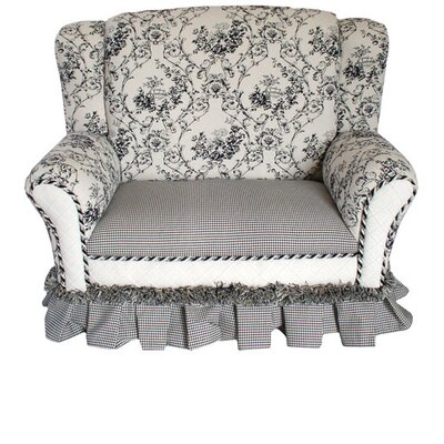 Child's Wingback Loveseat
